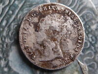 FOURPENCE GROAT COIN 1843 MD FIND