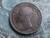 FOURPENCE GROAT COIN 1840 NICE