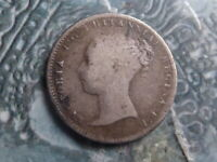 GROAT COIN 1848/6  8 OVER 6