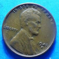 1941-S LINCOLN HEAD CENT SUMMER SALE  EXTRA FINE     SHIPS FREE
