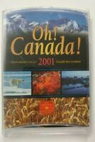 2001 OH  CANADA  UNCIRCULATED 7 COIN SET