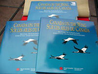 1995   50 CENT PROOF SET  CANADA ON THE WING  4  BIRD COINS
