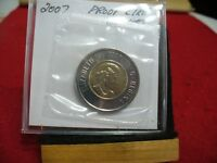 2007   CANADA 2$ TWO  DOLLAR  COIN  TOONIE  07  PROOF LIKE  SEALED   AUCTION