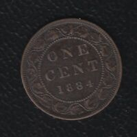 CANADA 1 CENTS 1884