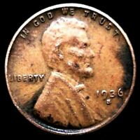 1936-S/S LINCOLN WHEAT CENT BN