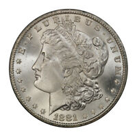1881-CC $1 MORGAN DOLLAR PCGS MINT STATE 66 CAC 3079-1