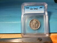 1920 STANDING LIBERTY SILVER QUARTER ICG VF-25 EXCELLENT DETAILS & EYE APPEAL