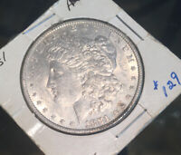 1881 P BU UNC FROSTY BLAST WHITE GEM BETTER DATE MORGAN SILVER DOLLAR