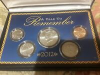 NEW  A YEAR YO REMEMBER COIN COLLECTION 2012