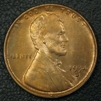 1934 D LINCOLN WHEAT CENT COPPER PENNY