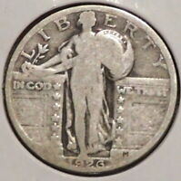 STANDING LIBERTY SILVER QUARTER - 1926 - OVERSTOCK - $1 UNLIMITED SHIPPING-S28