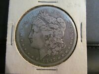 1897 O MORGAN SILVER DOLLAR COIN NEW ORLEANS MINT