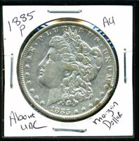 1885 P AU MORGAN DOLLAR 90 SILVER COIN ABOUT UNCIRCULATED COMBINE SHIP$1 WC978