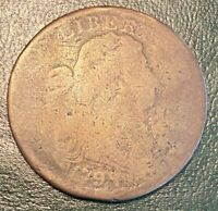 1798 S 164 R4 DRAPED BUST LARGE CENT.