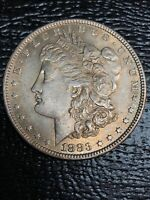 1883  MORGAN SILVER DOLLAR NO RESERVE
