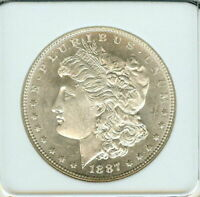 1887 MORGAN SILVER DOLLAR APPEARS A OUTSTANDING GEM DMPL .. OLD