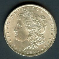1897 SILVER MORGAN DOLLAR APPEARS TO BE A   GEM UNCIRCULATED @@@  OUTSTANDI