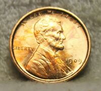 1909VDB UNCIRCULATED LINCOLN PENNY