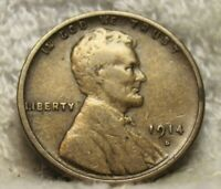 1914S LINCOLN PENNY