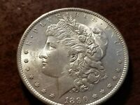 1890 S MORGAN SILVER DOLLAR, UNCIRCULATED     ZW05    AR507