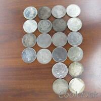 20 PC LOT MORGAN PEACE SILVER ONE DOLLAR $1 COINS USED CIRCU