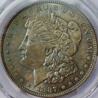 1887 MORGAN SILVER DOLLAR PCGS MINT STATE 64 CAC
