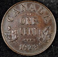 CANADA CENT NIGHT   HIGH GRADE KEY DATE 1923 GEORGE V SMALL