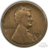 1909 S LINCOLN WHEAT CENT 1C KEY DATE US COIN 19342