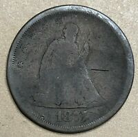 1875 SEATED LIBERTY SILVER TWENTY CENT PIECE   ESTATE SALE