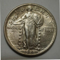 UNCIRCULATED 1920 STANDING LIBERTY QUARTER