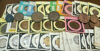 OLD MIXED CANADA COINS COLLECTION