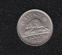 CANADA 5 CENTS 1937