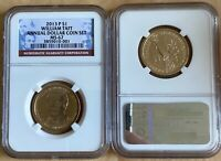 2013 P PRESIDENT WILLIAM TAFT $1 NGC MINT STATE 67 ANNUAL DOLLAR COIN SET