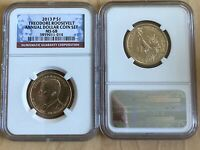 2013 P PRESIDENT THEODORE ROOSEVELT $1 NGC MINT STATE 68 ANNUAL DOLLAR COIN SET