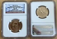 2013 P PRESIDENT WILLIAM MCKINLEY $1 NGC MINT STATE 68 ANNUAL DOLLAR COIN SET