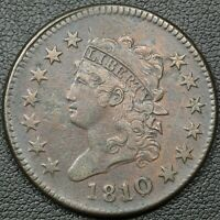 1810/09 CLASSIC HEAD COPPER LARGE CENT - CORROSION
