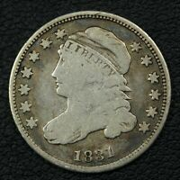 1831 CAPPED BUST SILVER DIME