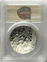 2020 P BASKETBALL HALL OF FAME COMMEMORATIVE SILVER DOLLAR F