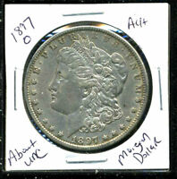 1897 O AU MORGAN DOLLAR ABOUT UNCIRCULATED 90SILVER COIN OLD $1 AUCTIONCWC1564