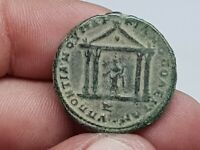 STUNNING  ANCIENT ROMAN PROVINCIAL COIN TEMPLE/DOUBLE HEAD 1