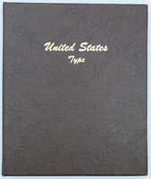 UNITED STATES TYPE COIN DANSCO ALBUM INCOMPLETE SET   PRC002