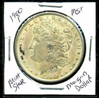 1900 P BU MORGAN DOLLAR UNCIRCULATED SILVER MINT STATE COMBINE SHIP$1 COINC1079