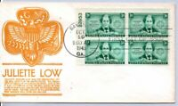 974 JULIETTE LOW FOUNDER OF GIRL SCOUTS STAMP FDC GIRL GUIDE