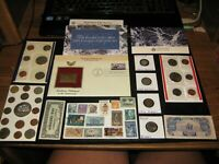 BIG JUNK DRAWER COIN LOT 1997 MINT COINS INDIAN CENT BUFFALO
