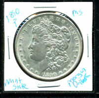 1890 P BU MORGAN DOLLAR UNCIRCULATED SILVER MINT STATE COMBINE SHIP$1 COINC3149