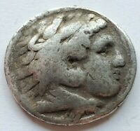 ELEGANT AND BOLD LIFETIME AR TETRADRACHM OF ALEXANDER THE GR