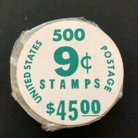 US SC.1616 COIL ROLL OF 500 UNOPENED PO PACKAGING $45. FACE