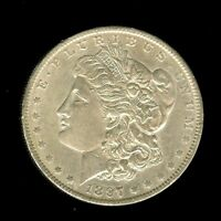 1897-O MORGAN SILVER DOLLAR APPEARS A BEAUTIFUL  UNCIRCULATED BETTER DATE