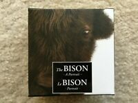 2014 CANADA THE BISON   A PORTRAIT   1 OZ $20 SILVER PROOF COIN