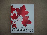2013 O CANADA 12X $10 1/2 OZ SILVER PROOF COIN SET IN WOODEN BOX